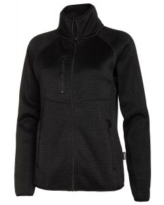 WOMENS KNITTED FLEECE MH-220 MH-220 BLACK 40