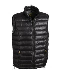 Light quilted vest MH-442 Black L