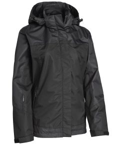 WOMENS JACKET MH-659 BLACK STL 46