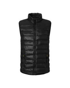 Light quilted vest MH-442 Black L