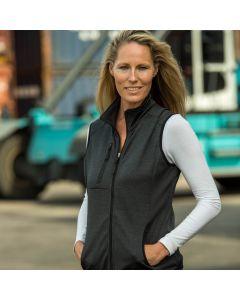 Womens power fleece vest MH-715
