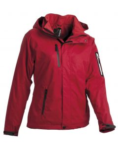WOMENS JACKET MH-894 RED STL 36